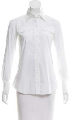 Boglioli Long Sleeve Button-Up Top