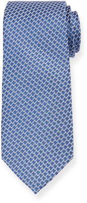 Neiman Marcus Men's Patterned Silk Tie