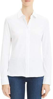 Theory Fitted Oxford Shirt
