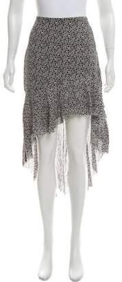 IRO Asymmetrical Midi Skirt