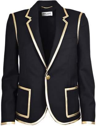 Saint Laurent Trim Cropped Jacket