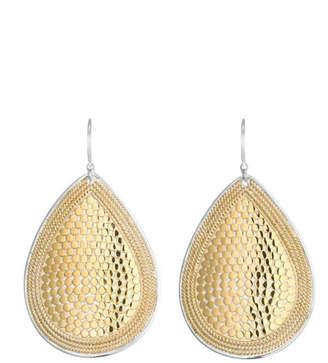Anna Beck Gold Teardrop Earrings