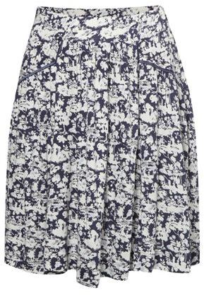 Orchard Jersey Flared Mini Skirt