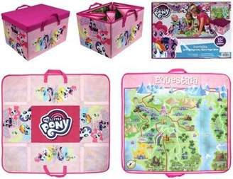 My Little Pony 2-In-1 Equestria Play Mat & Storage Box