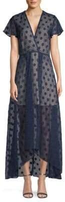 NSR Alexis Ruffle A-Line Dress