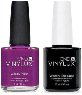 CND Creative Nail Design Vinylux Tango Passion Nail Polish & Top Coat (Two Items), 0.5-oz, from Purebeauty Salon & Spa