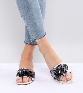 Asos Design DESIGN Florina Embellished Mules