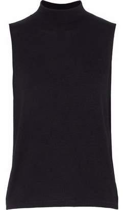 Rag & Bone Thea Cutout Stretch-Jersey Top