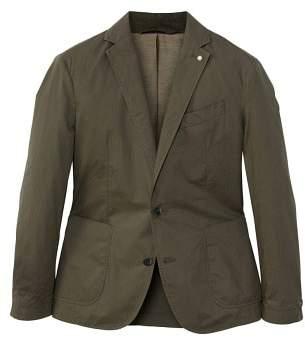 Mango man MANGO MAN Unstructured regular-fit cotton blazer