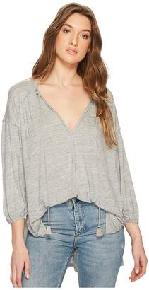 Free People Just A Henley Women's Clothing