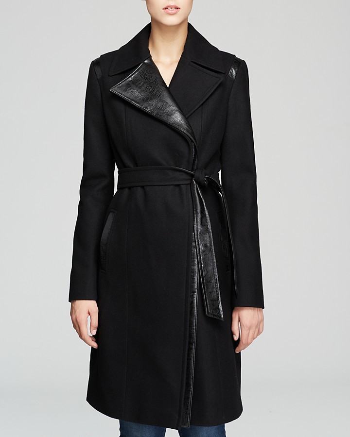 Via Spiga Coat - Asymmetric Wrap
