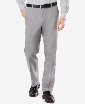Dockers Big & Tall Signature Classic Pleated Fit Khaki Stretch Pants D3