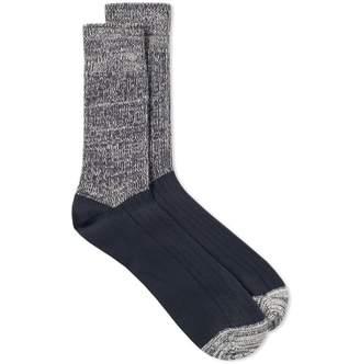 Albam Marl Block Sock