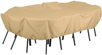 Classic Accessories Terrazzo X-Large Rectangular or Oval Patio Table & Chairs Cover