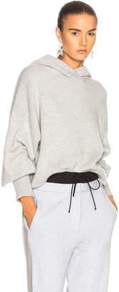 Tibi Cashmere Bell Sleeve Hoodie
