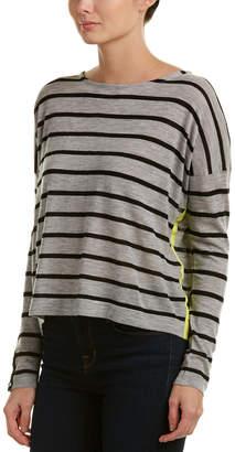 Autumn Cashmere Contrast Cashmere Sweater