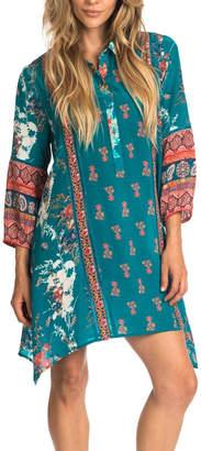 Tolani Tris Jade Tunic Dress