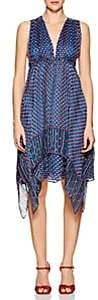 Ulla Johnson Women's Colette Silk Chiffon Midi-Dress-Cerulean