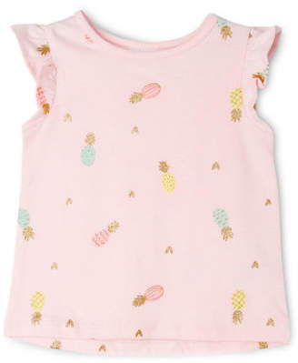 Sprout NEW Girls Essential Top Lt Pink