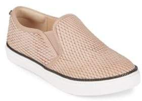 Botkier New York Harper Embossed Snake Print Slip-On Sneaker
