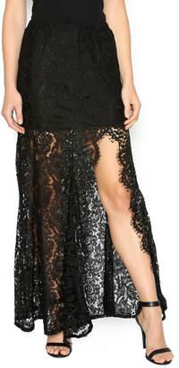 Do & Be Mermaid Lace Maxi Skirt