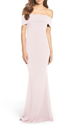 Women's Katie May Crepe Body-Con Gown $295 thestylecure.com