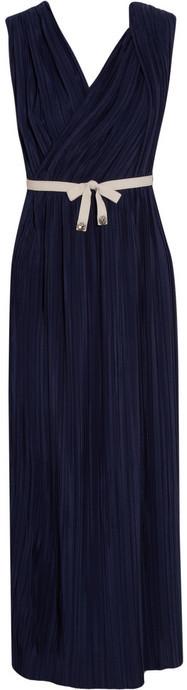 3.1 Phillip Lim Belted pleated silk dress