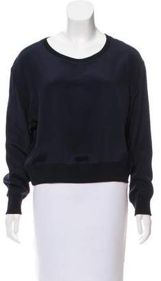 Theyskens' Theory Casual Crew Neck Top