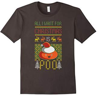 Poop Emoji Christmas Shirt Poop Ugly Christmas Sweater Shirt