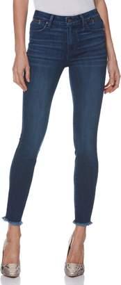 Paige Transcend Vintage - Hoxton Zip Pocket High Waist Ankle Skinny Jeans