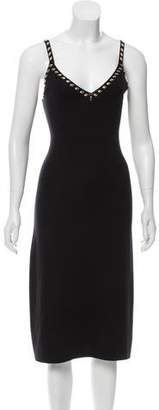Louis Vuitton Wool & Cashmere Embellished Dress w/ Tags