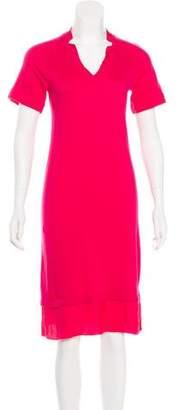 Magaschoni Short Sleeve Knit Dress
