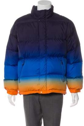 Supreme 2018 Gradient Puffy Down Jacket w/ Tags