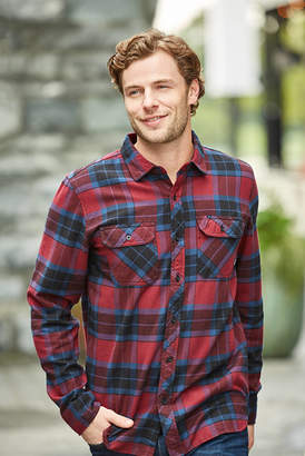 Tavik Vincent Plaid Flannel Long Sleeve Shirt