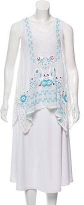 Johnny Was Eyelet Embroidered Tunic
