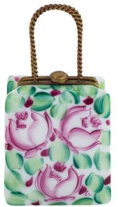 Limoges Shopping Bag Trinket Box