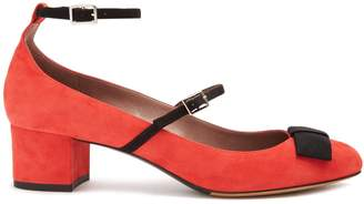 Tabitha Simmons Rubia suede pumps