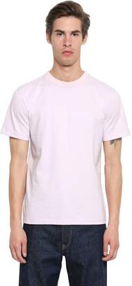 Calvin Klein Embroidered Heavy Cotton Jersey T-Shirt