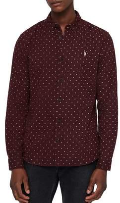 AllSaints Bethel Slim Fit Button-Down Shirt