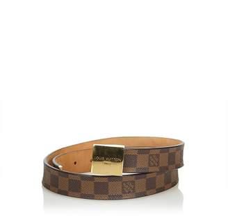 Louis Vuitton Vintage Damier Ebene San Tulle Belt