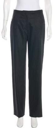 Armani Collezioni High-Rise Virgin Wool Pants