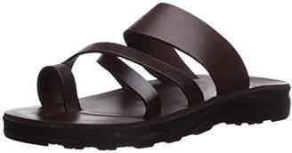 Jerusalem Sandals Men's The Good Shepherd Molded Footbed Slide Sandal