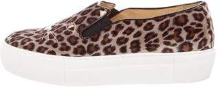 Charlotte Olympia Cool Cats Slip-On Sneakers w/ Tags