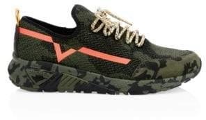 Diesel Utilitarian Knit Sneakers