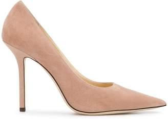 Jimmy Choo ballet pink Love 100 pumps
