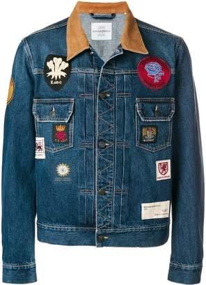 Kent & Curwen denim patch-embellished jacket