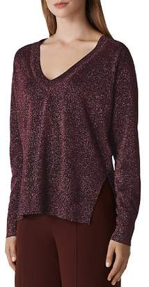 Whistles Sparkle Knit Sweater