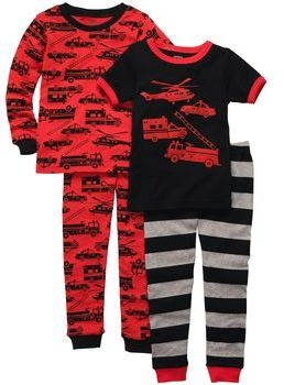 Carter's Snug Fit Cotton 4-Piece PJs