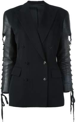 Jean Paul Gaultier Pre-Owned contrast sleeves jacket