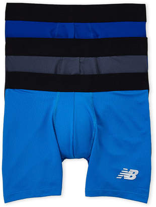 New Balance 3-Pack Performance Mesh Boxer Briefs